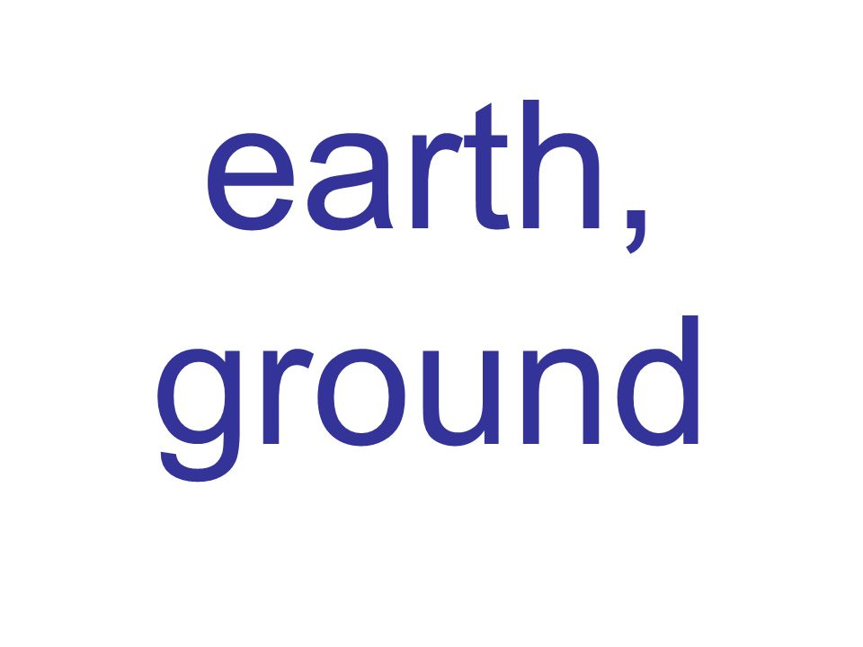 earth, ground