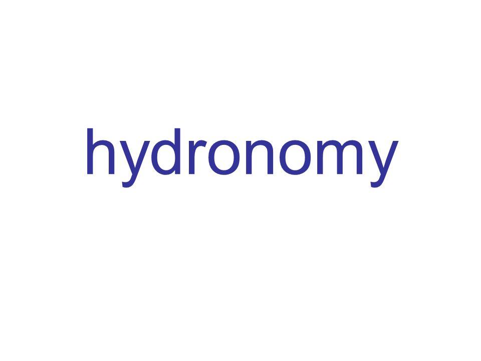 hydronomy
