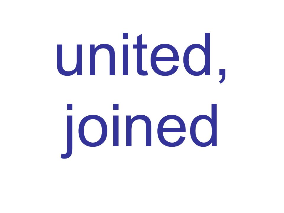 united, joined