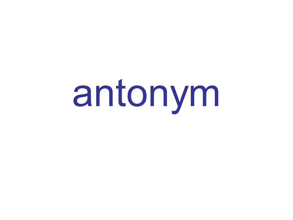 antonym