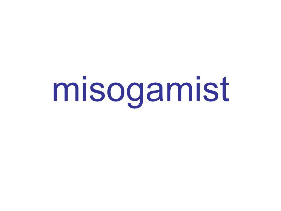 misogamist