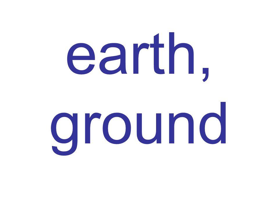 earth, ground