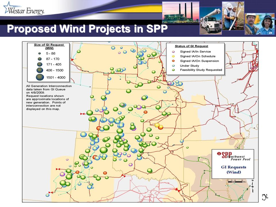 16 Other Projects: South-Central Kansas Rebuilding the 69 kV lines from Gill-Peck, Weaver-Rose Hill Junction, Timber Junction-Winfield All scheduled to be completed in 2010 Building the new 138 kV line from Sumner Co.
