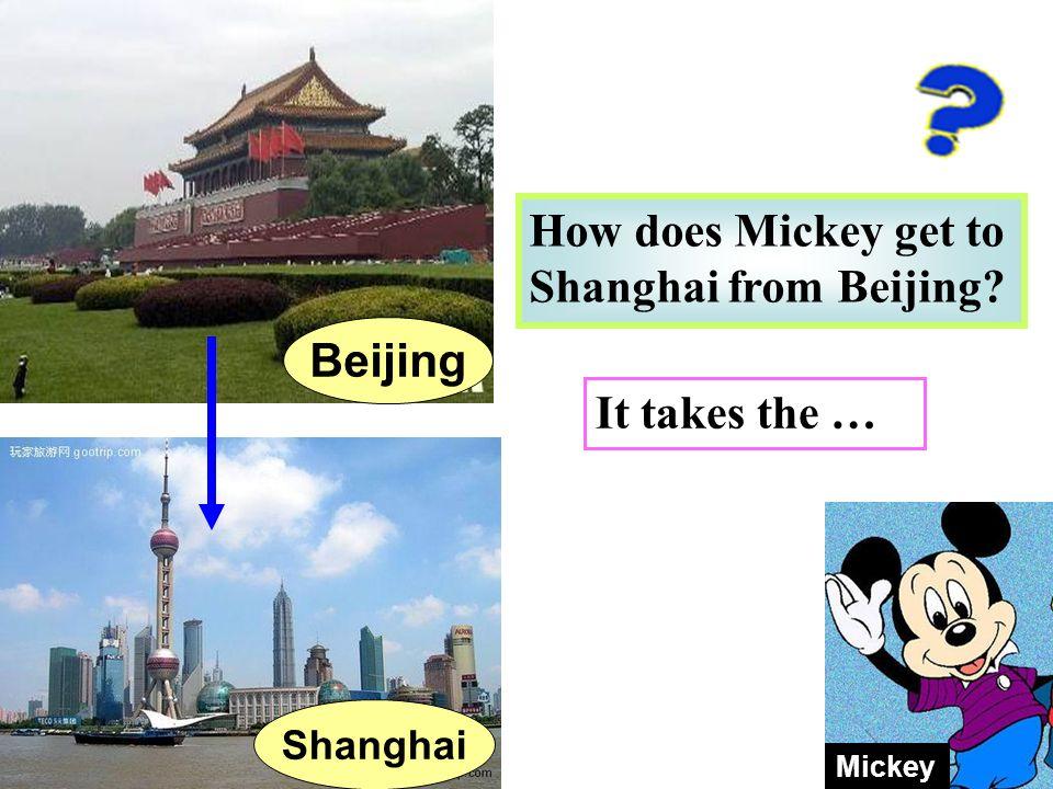 Beijing Tokyo Shanghai Mickey