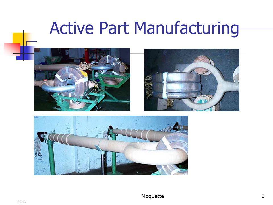 Maquette9 Active Part Manufacturing IT range