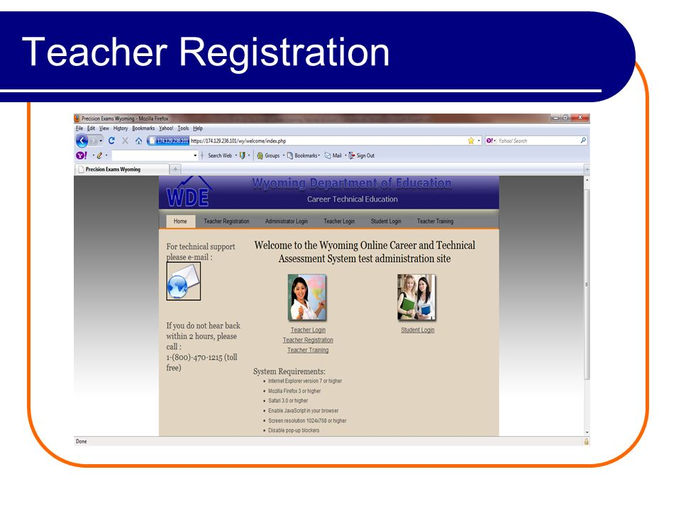 Teacher Login Enter your Teacher ID and Password (sent to you in a separate e-mail).