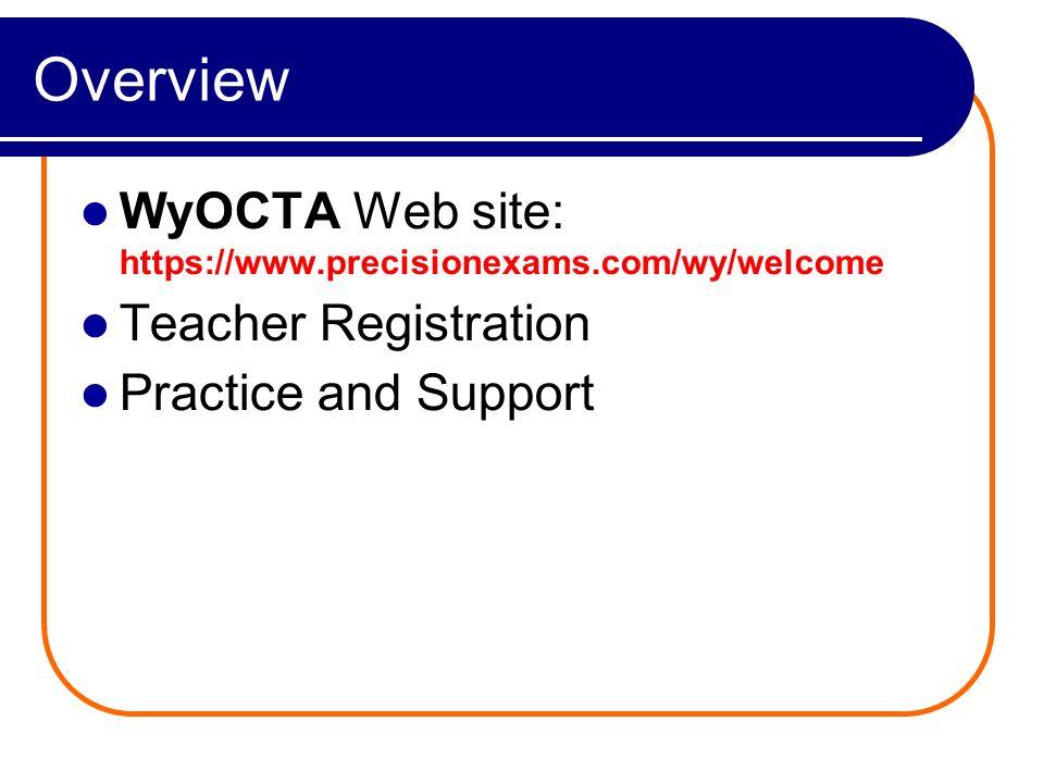 Teacher Registration