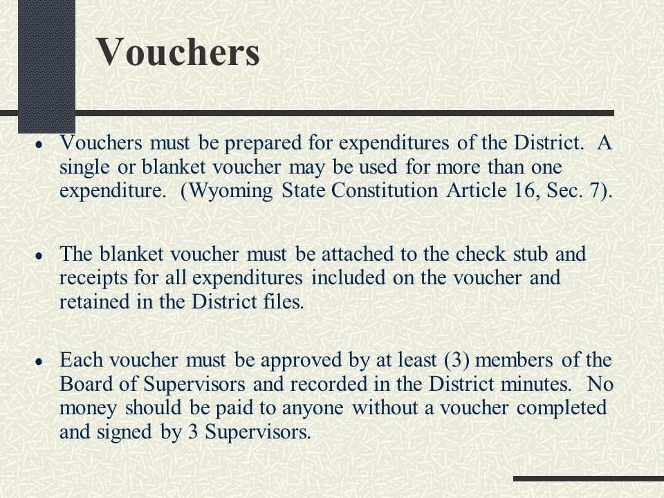 Receipts must be written for all money received by the district, including bank interest. Transfers of money between bank accounts are not Revenue or