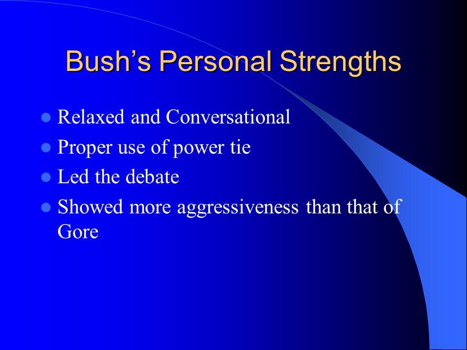 Campaign 2000 Bush vs. Gore Second Debate Dustin Rees Maggie Davis Jake Schofield Reese Oetken