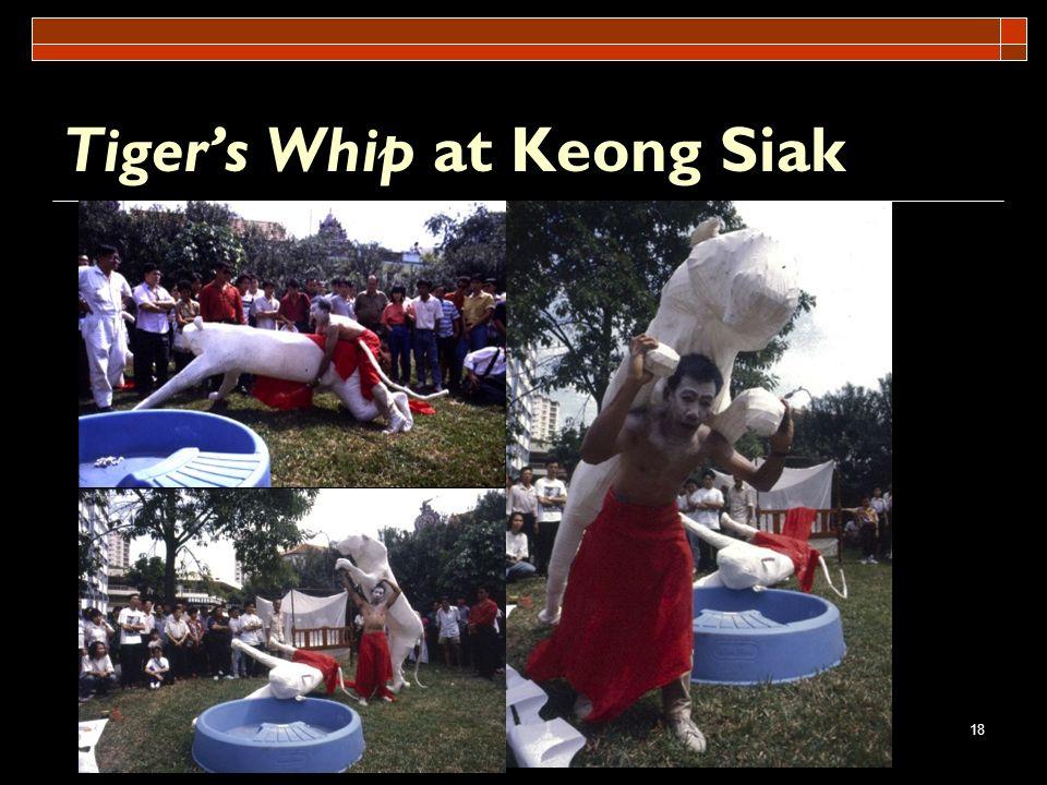 18 Tigers Whip at Keong Siak
