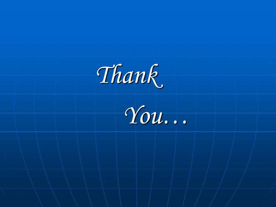 ThankYou…