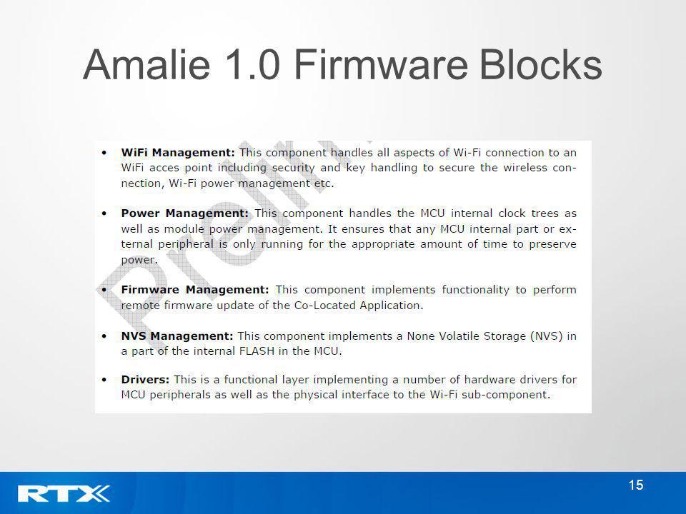 15 Amalie 1.0 Firmware Blocks