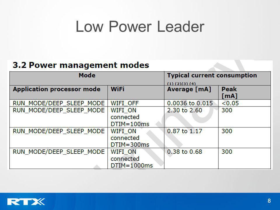 Low Power Leader 8