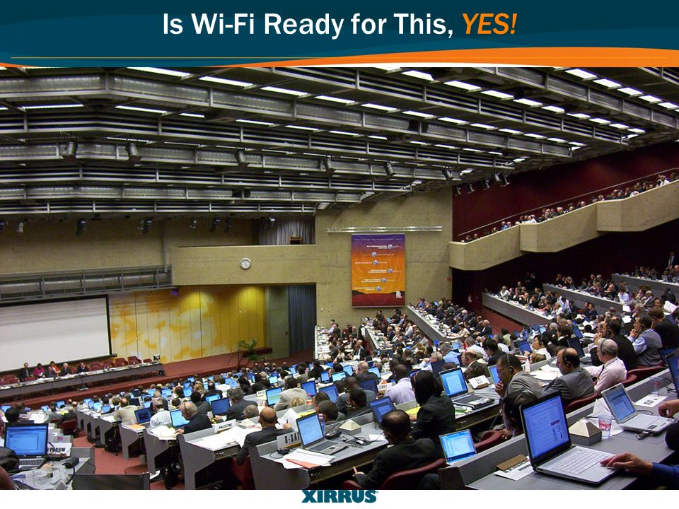 Is Wi-Fi Ready for This, YES!