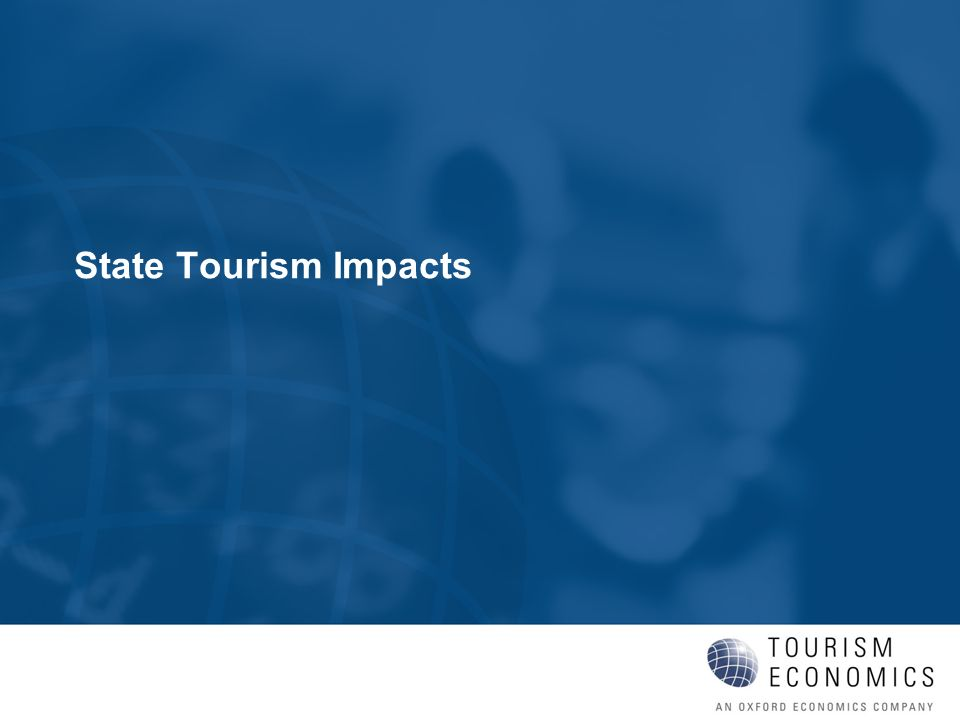 State Tourism Impacts