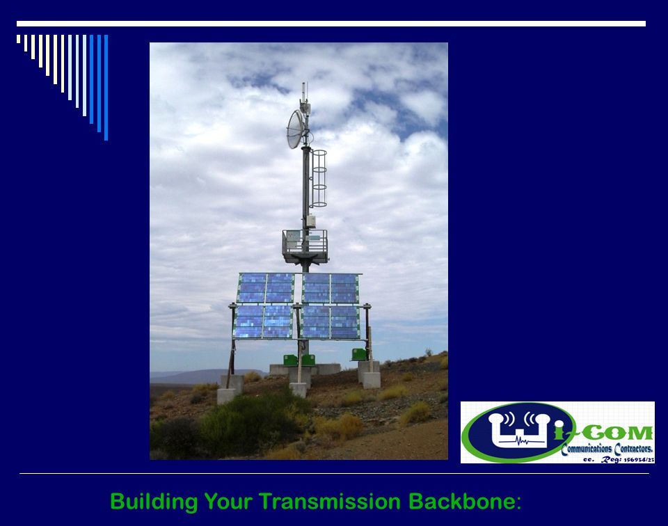 Building Your Transmission Backbone :
