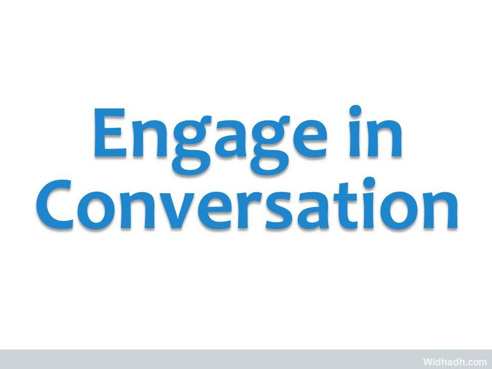 Widhadh.com Engage in Conversation
