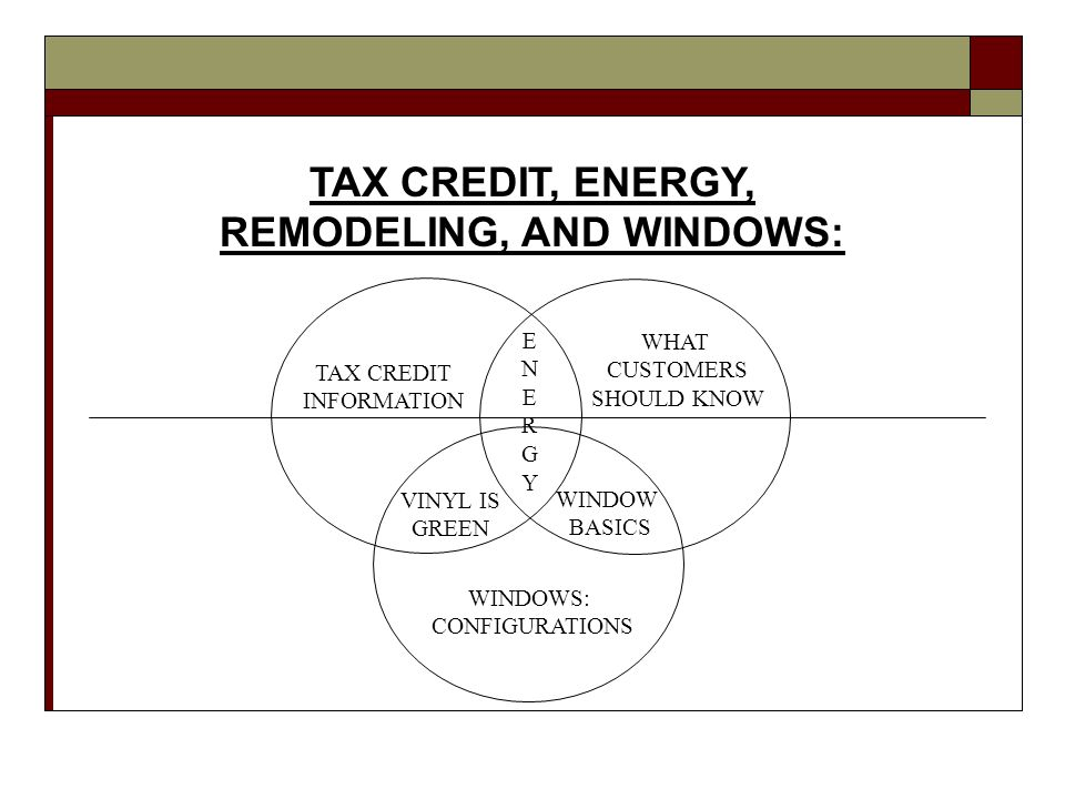 TAX CREDIT QUESTIONS: What you need to know from energystar.gov Q.
