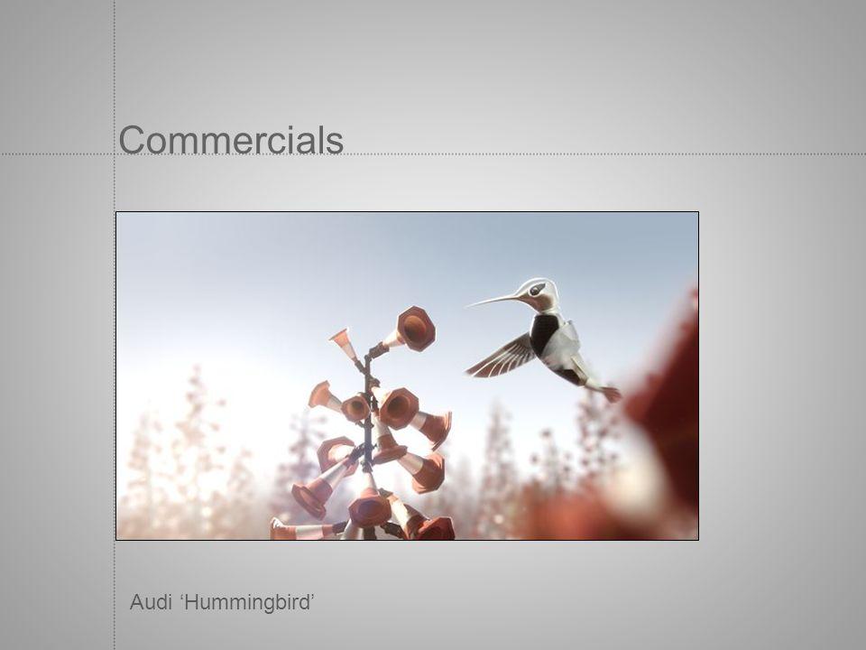 Commercials Audi Hummingbird