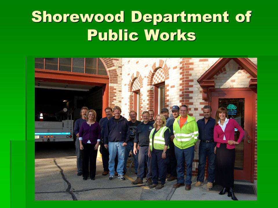 Shorewood Department of Public Works