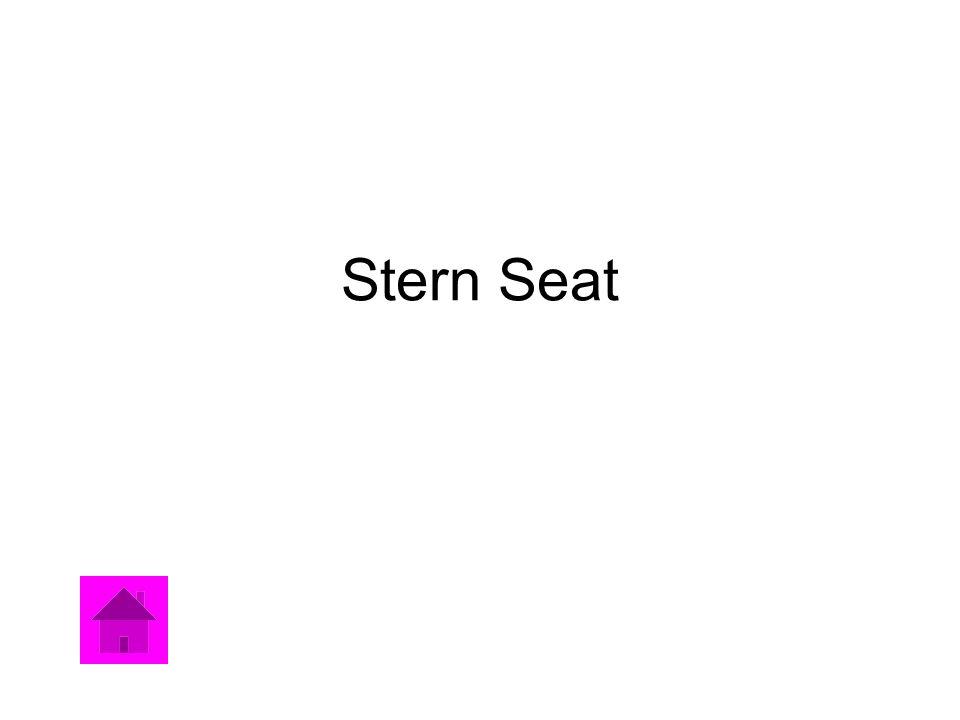 Stern Seat