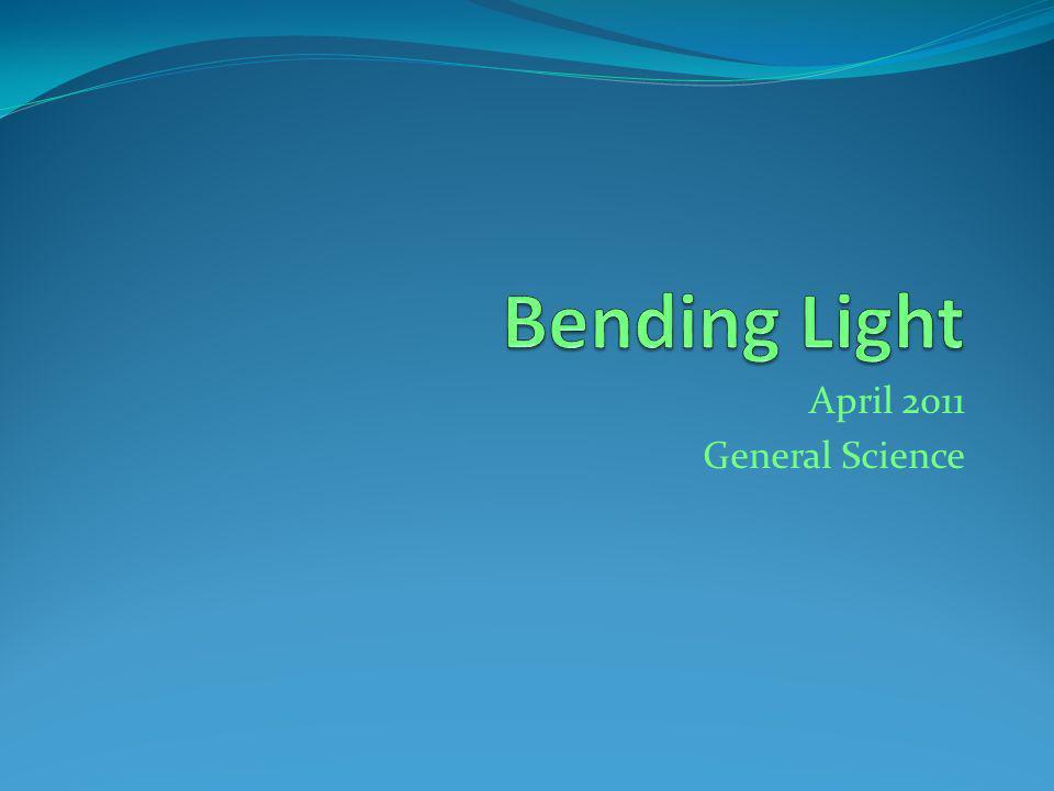April 2011 General Science