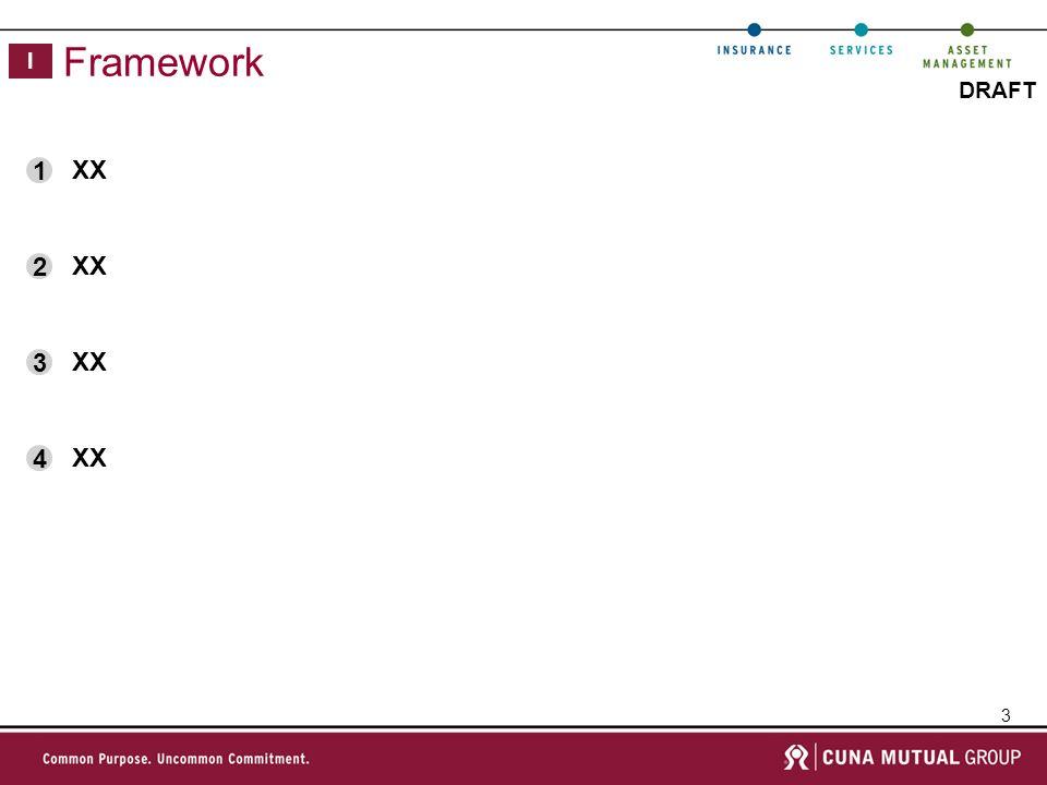 3 DRAFT Framework I XX 1 2 3 4