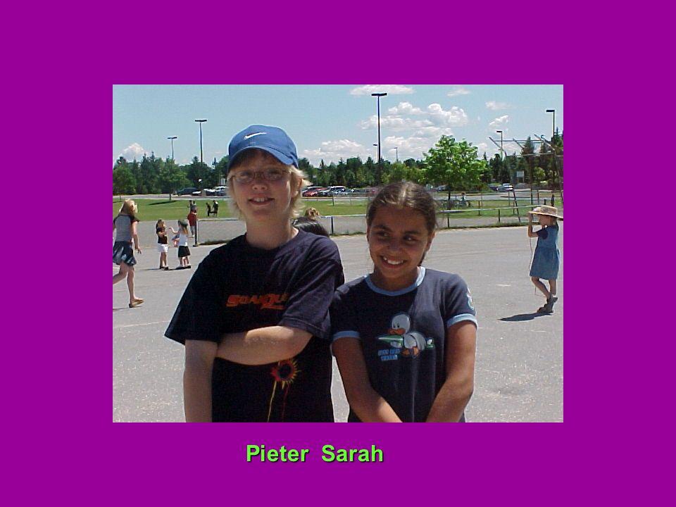 Pieter Sarah Pieter Sarah