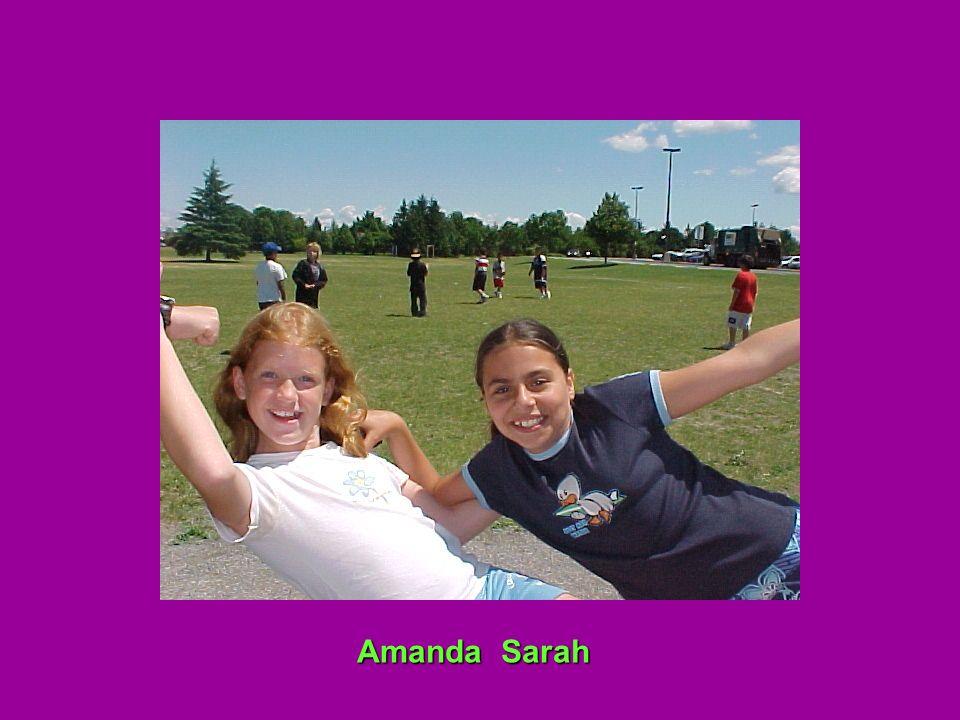 Amanda Sarah