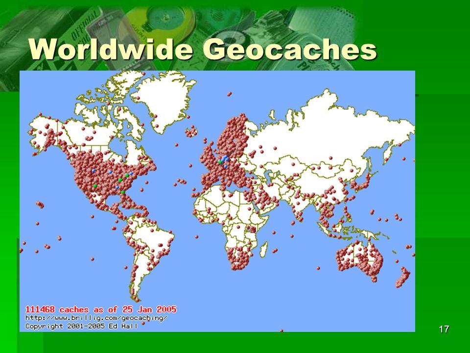 17 Worldwide Geocaches