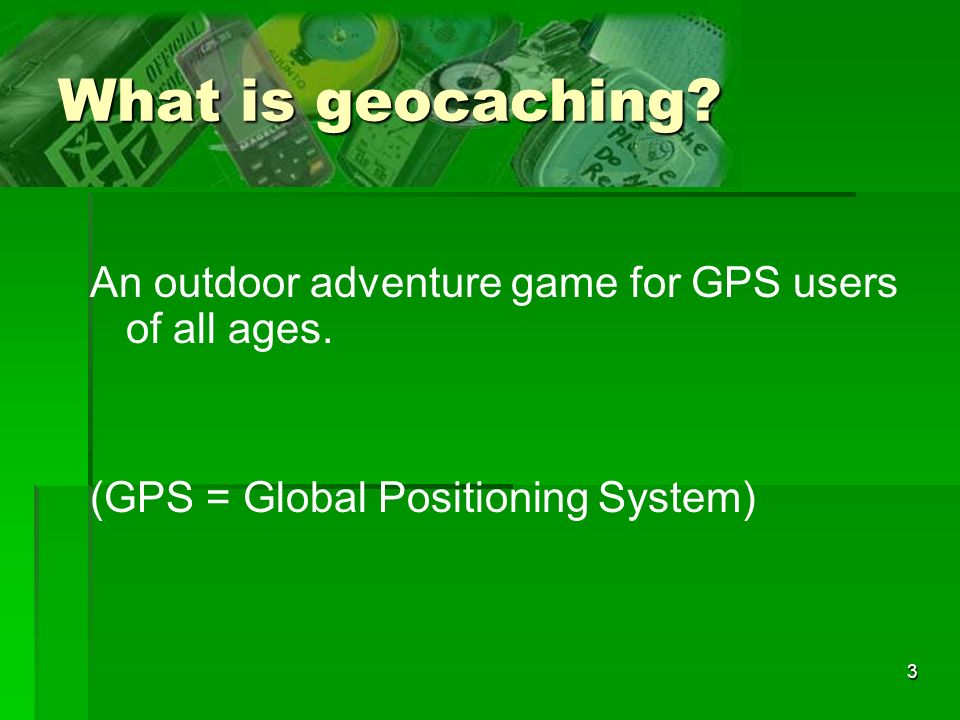 14 Where do I find out about nearby geocaches.