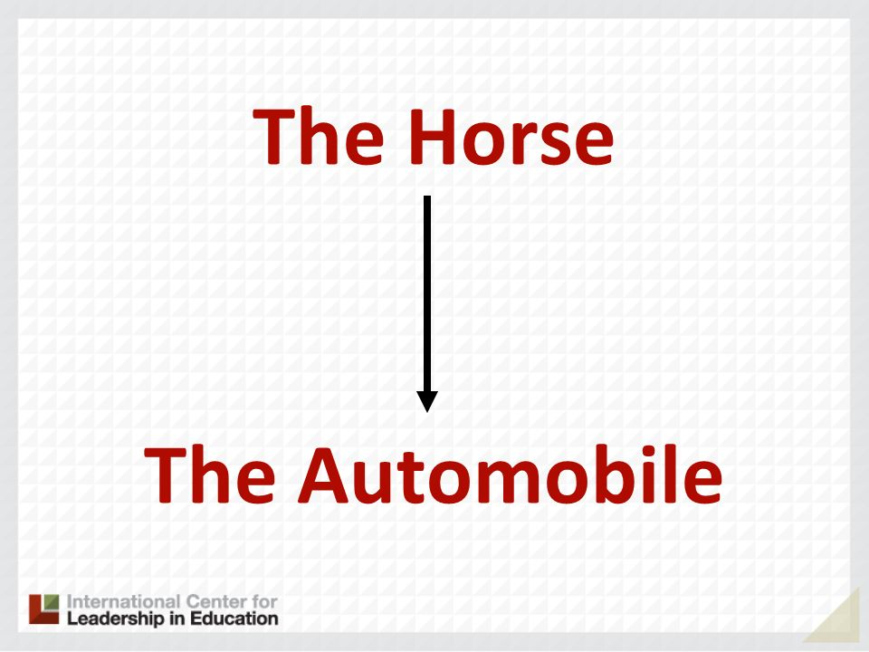 The Horse The Automobile