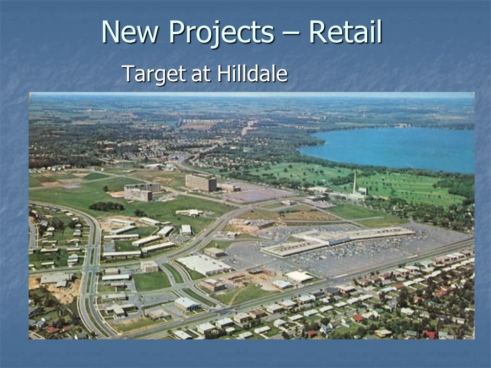 New Projects – Retail Target at Hilldale