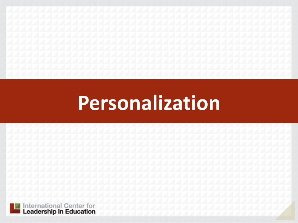 23 Successful Practices Personalization