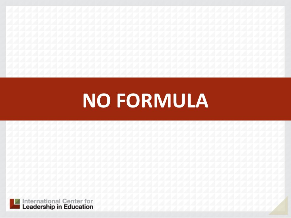 23 Successful Practices NO FORMULA