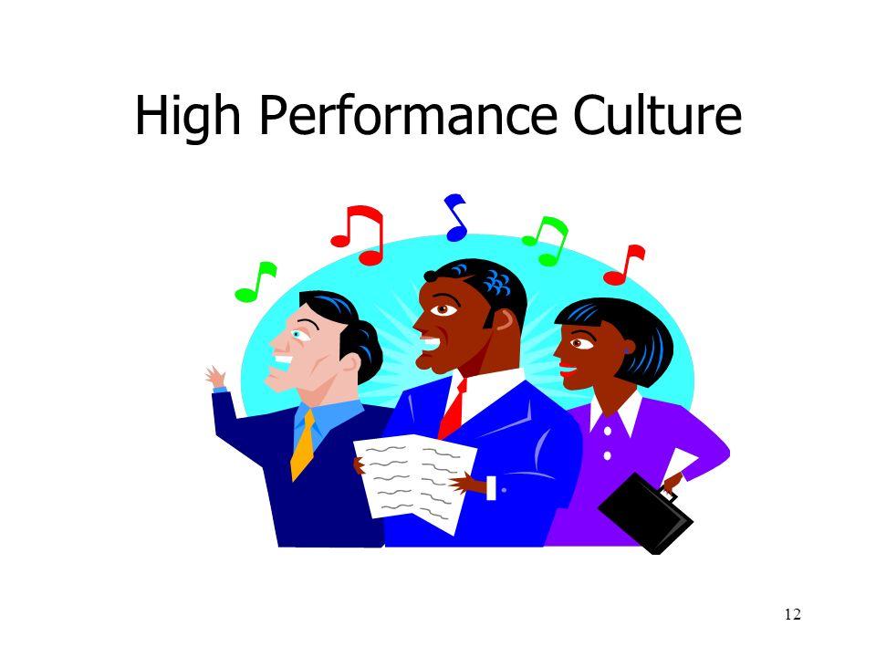 12 High Performance Culture