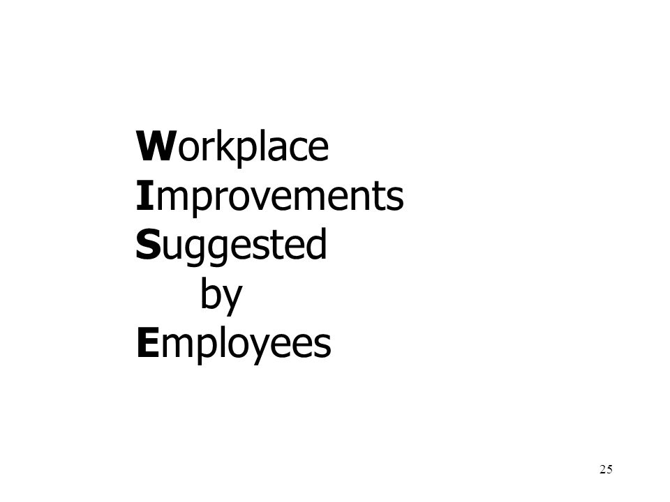 25 Workplace Improvements Suggested by Employees