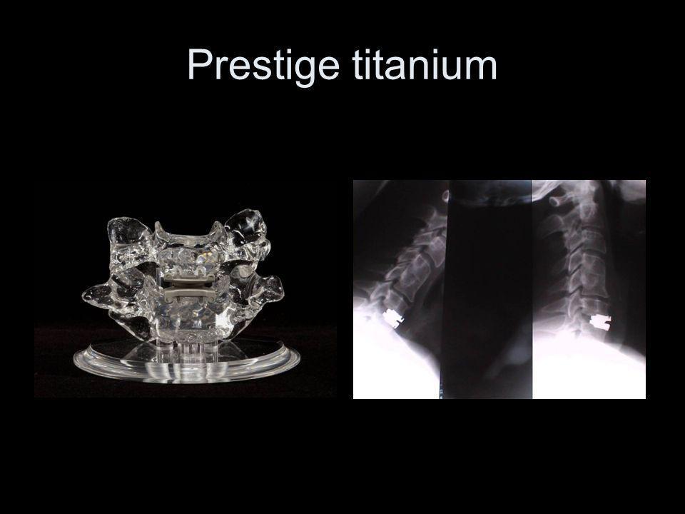 Prestige titanium