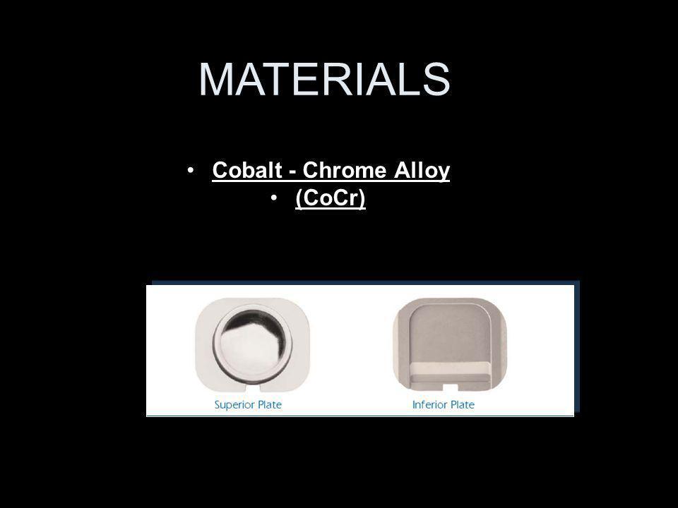 Cobalt - Chrome Alloy (CoCr) MATERIALS