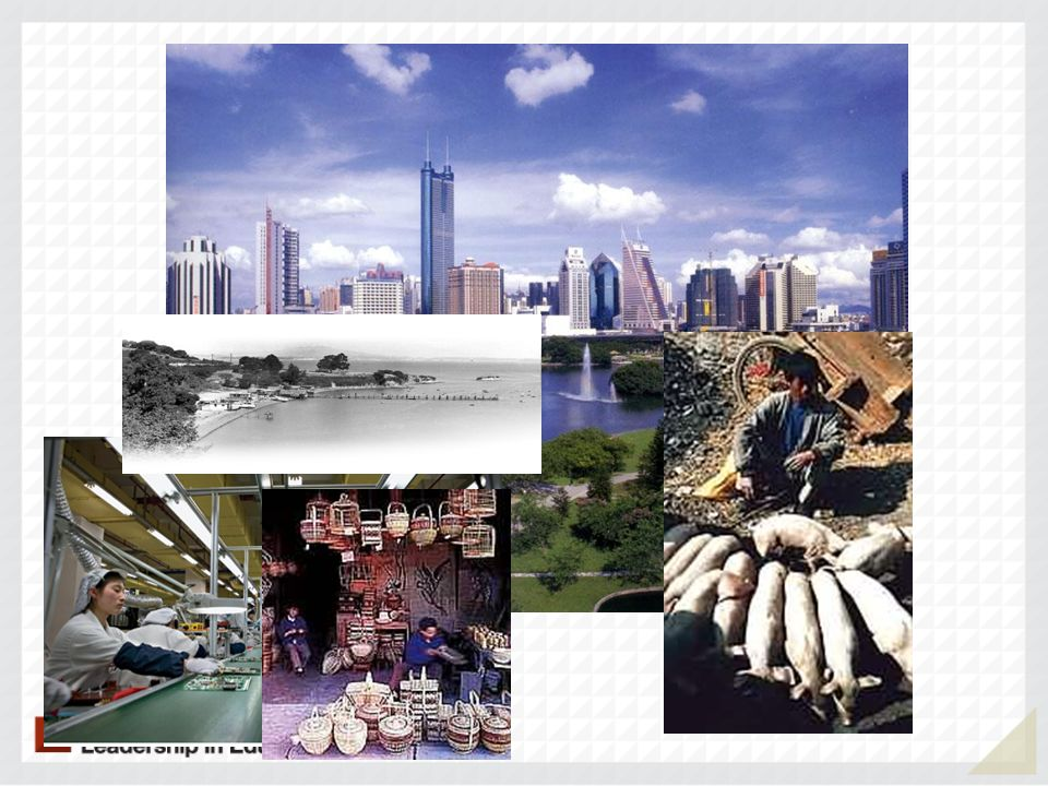 Shenzhen 1980 -Fishing Village 2013 -