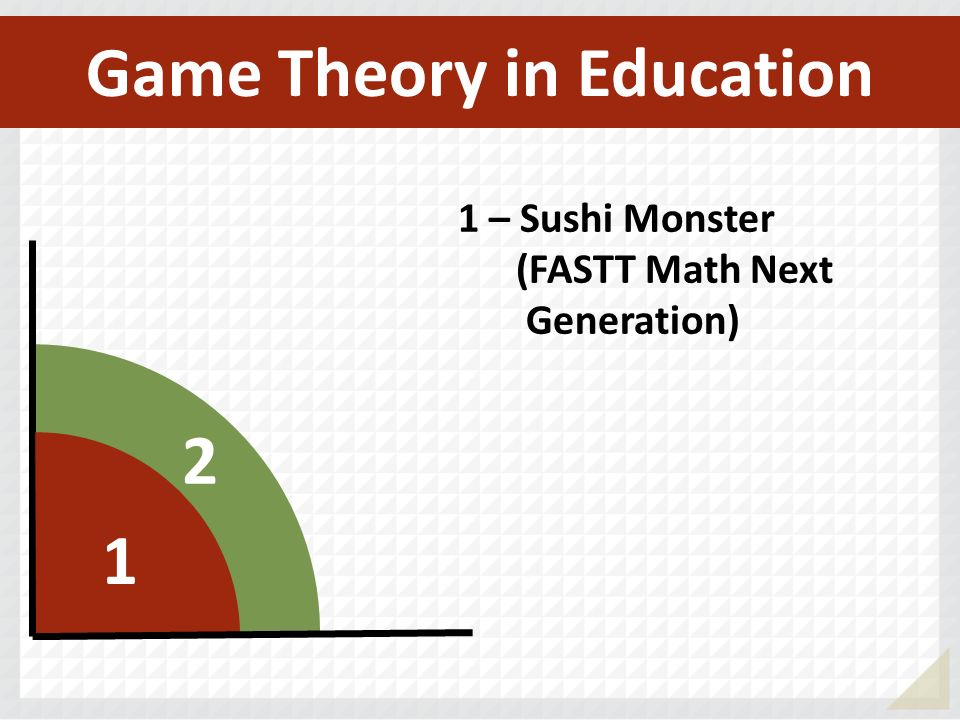2 1 1 – Sushi Monster (FASTT Math Next Generation) Game Theory in Education