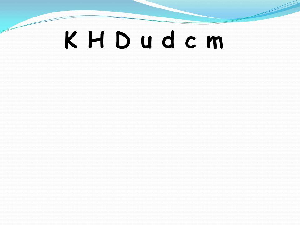 K H D u d c m