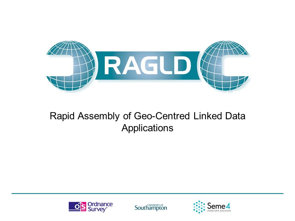 Lucy Diamond, Research Scientist, Ordnance Survey 18/04/2012 Rapid Assembly of Geo-Centred Linked Data Applications