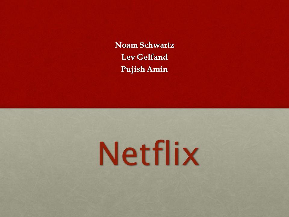 Netflix Noam Schwartz Lev Gelfand Pujish Amin