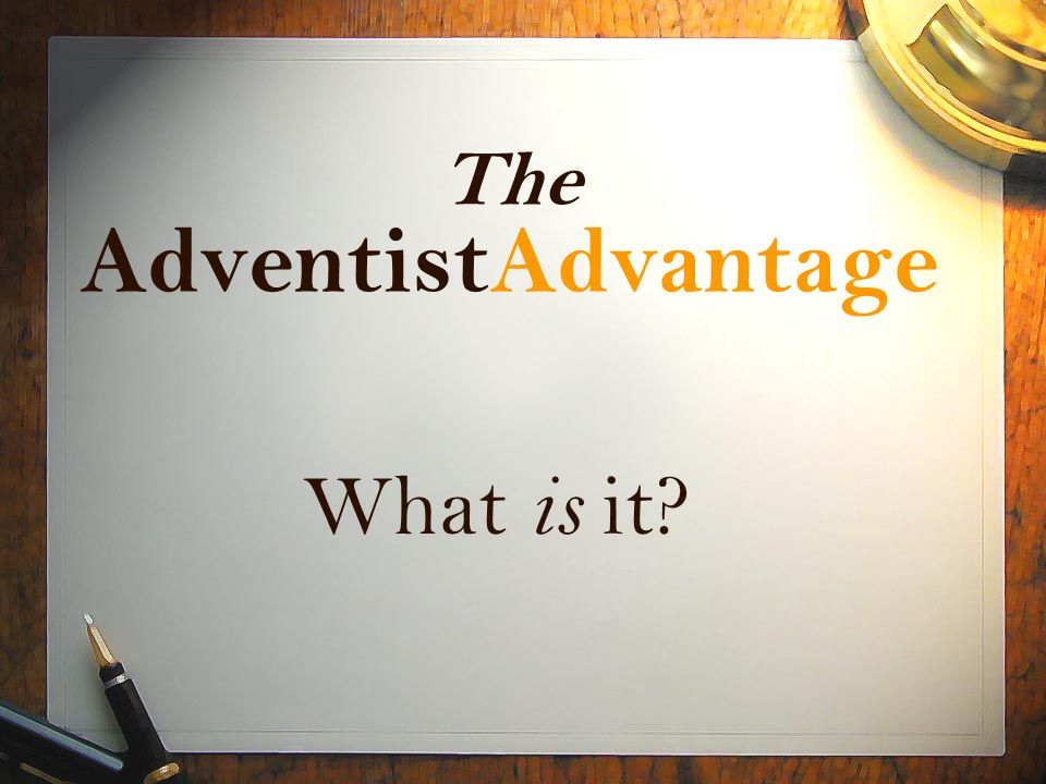 ValueGenesis CognitiveGenesis Next Step Adventist Advantage www.larryblackmer.com