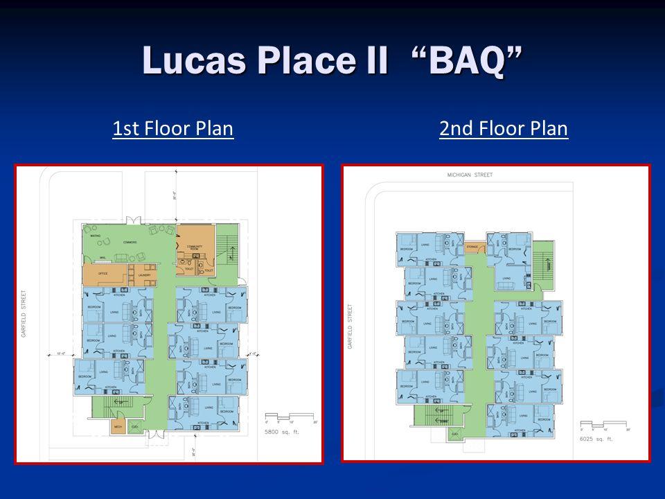 Lucas Place II BAQ 1st Floor Plan2nd Floor Plan
