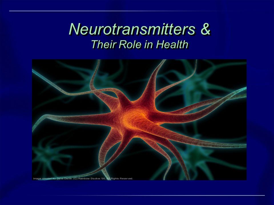 Neurotransmitters & Their Role in Health