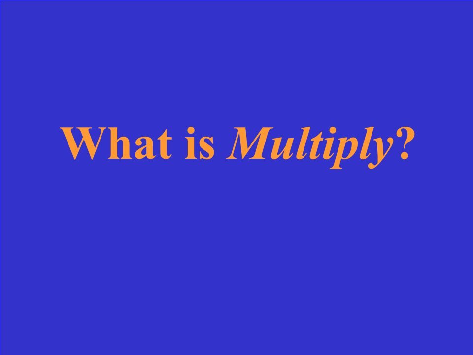 When you combine equal groups, you can multiply to find how many in all; the opposite operation of division. division