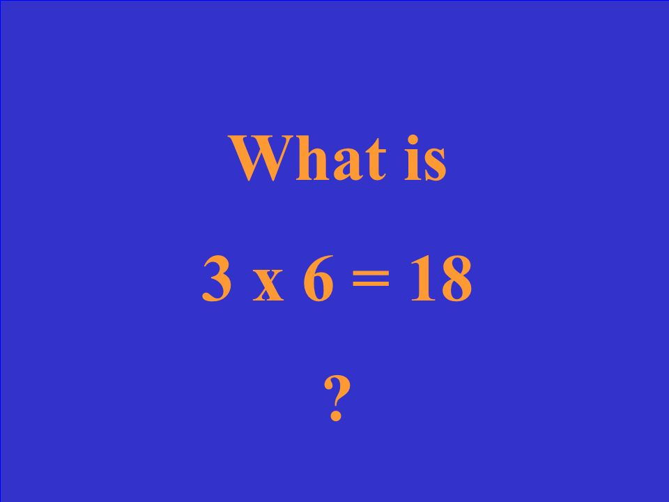 What is the multiplication sentence?