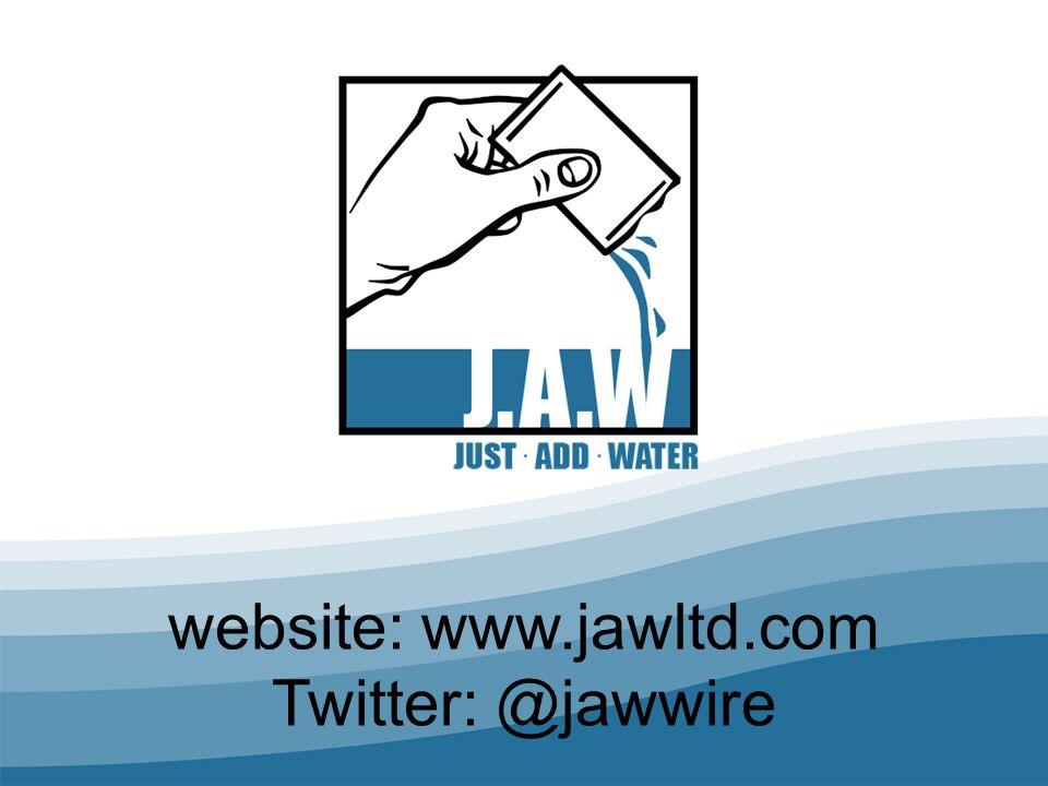 website: www.jawltd.com Twitter: @jawwire